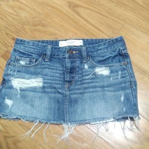 Abercrombie and Fitch jeans skirt